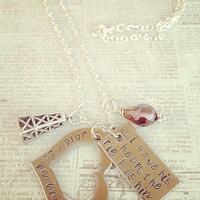 Deborah Elias, January fab finds, January 2013, Stamped & Strung, necklace, jewelry