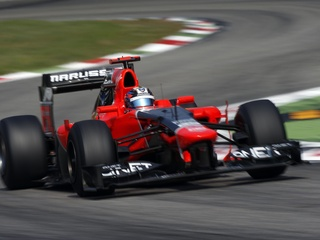 Austin Photo: Kevin_Marussia sponsor Formula 1_November 2012_car