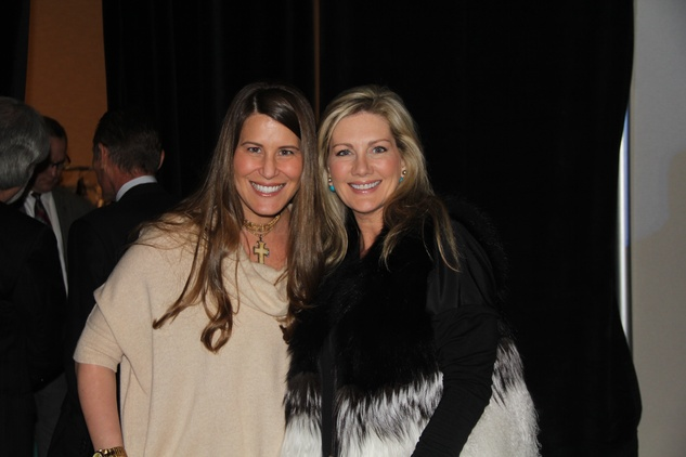 15 Laura Fondren, left, and Ann Carl at the Rodeo Trailblazer Awards Luncheon February 2015