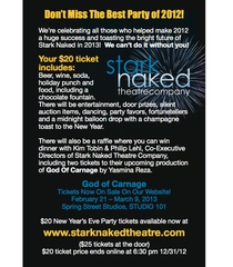 "Stark Naked Theatre Company's ""A New Year's Eve Celebration"""