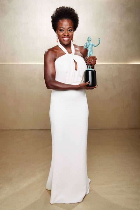 Viola Davis at Screen Actors Guild Awards