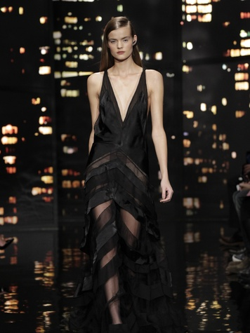 Look 38 Clifford Pugh New York Fashion Week fall 2015 February 2015 Donna Karan
