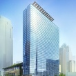 The eastern facade rendering of the JW Marriott Austin