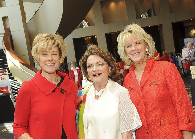 Go Red for Women, 5/16, Leila Gilbert, Beth Wolff, Liz Jameson
