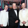 T. Mark Kelly, from left, Joel A. Bartsch and Maynard Holt at the Museum of Natural Science Gala March 2014