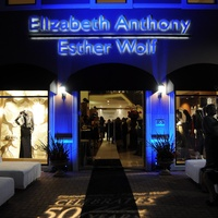 Elizabeth Anthony, Esther Wolf, 50th anniversary party, October 2012, Storefront