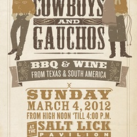 Austin Photo: Event_Cowboys and Gauchos 2012_poster