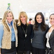 Bethany Buchanan, Katie Scott, Monica Abney, Julie Bortnick at Katie Design trunk show at Neiman Marcus