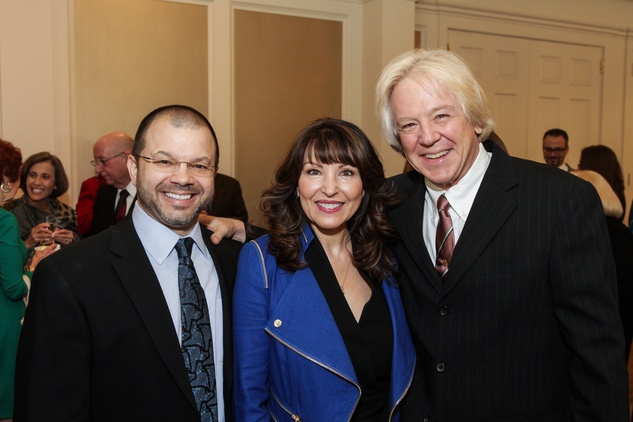 1 Alan Austin, from left, with Deborah and Franz Krager at the Moores School of Music Luncheon November 2014
