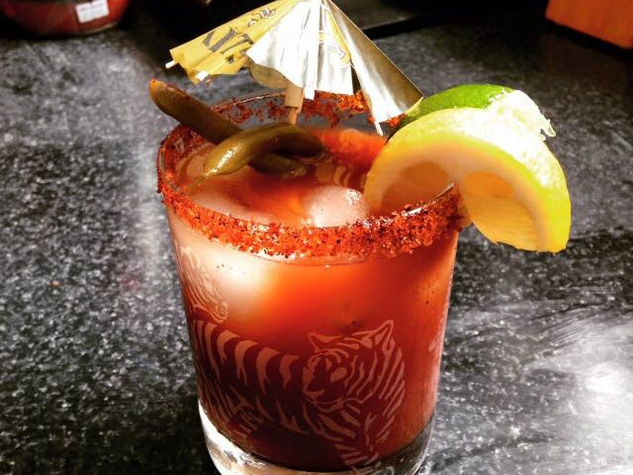 Halo del Santo bloody mary