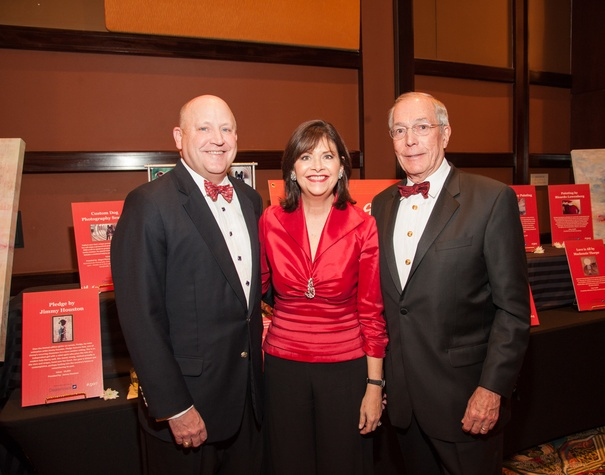 Heart Ball, Feb. 2016, Tim Neumann, Roxann Neumann, John Nau