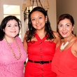 Catarina Gonzalez, from left, Jessica Michan and Deborah Elias at the Bridal Brunch September 2014