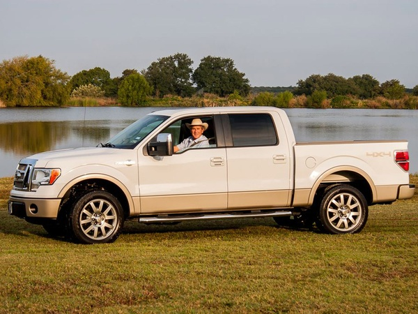 George W. Bush, truck up for auction, January 2013