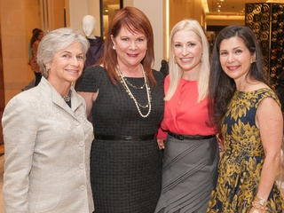 Houston Grand Opera, Armani Collezioni Luncheon, October 2012, Anne Mendelsohn, Barbara Van Postman, Isabel David, Cynthia Petrello