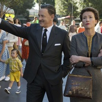 Tom Hanks and Emma Thompson in Saving Mr. Banks