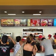 3 Jollibee Houston Setember 2013 crowd at menu board in line to order
