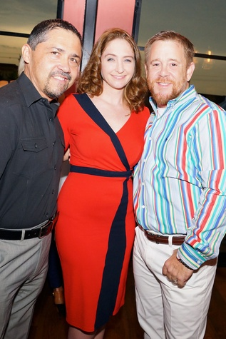 Houston, Roseann Rogers and Lara Bell birthday party, August 2015, Bruce Padilla, Dr. Angela Sturm, Shelby Kibodeaux