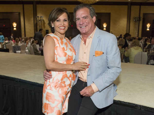 20 Lucia and Michael Cordua at the Latin Womens Initiative May 2014