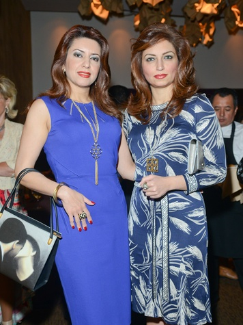 9 Parissa Mohajer, left, and Mahzad Mohajer at the Cordua cookbook event November 2013