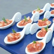 12 Vallone's ceviche appetizer at the Brush & Blush Blow Dry Bar party June 2014