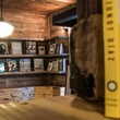 Detailed interior of The Wild Detectives bookstore in Dallas
