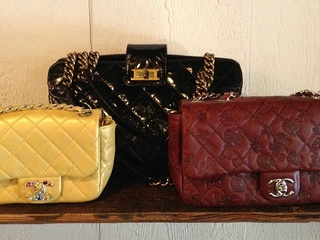Chanel bags at Vintage Martini