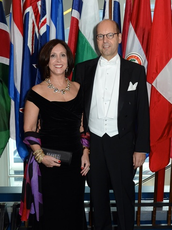 2 Michele and Gerald Seidl at the Consular Ball October 2013