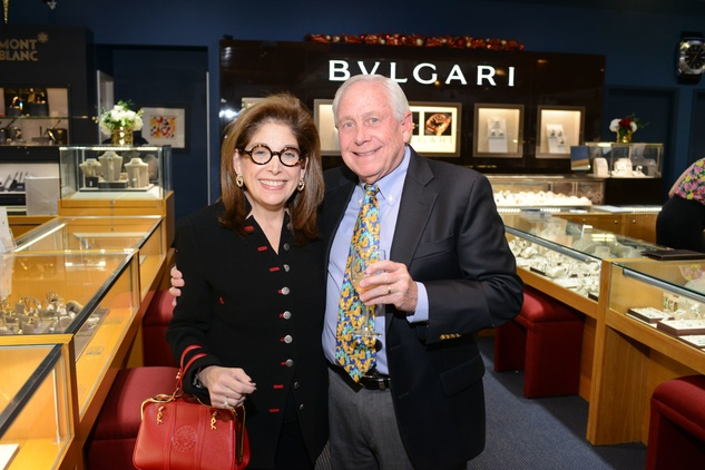 14 109 Carol and Ronnie Rauch at the Zadok Jewelers Holiday Party December 2014