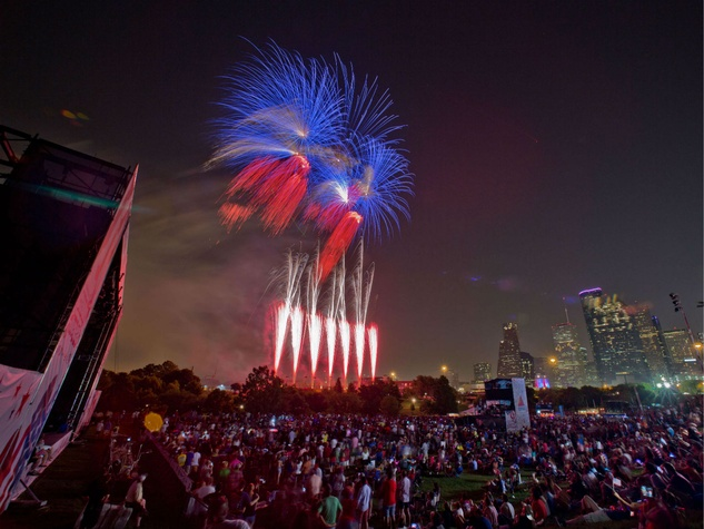 Mayor's Office of Special Events presents Freedom Over Texas