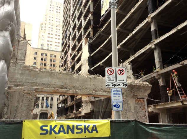 Houston Club building will be demolished by Skanska