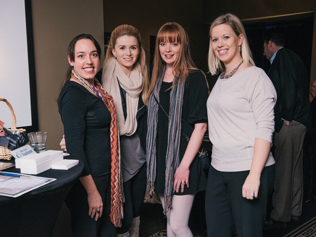 002, Mixers on the Map, Hotel ZaZa, January 2013, Courtney Webb, Chelsea Cunningham, Wendy Thomas, Genny Gomez