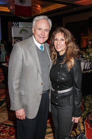 3 Bill King and Neda Ladjevardian at The Social Book 2015 Launch Party January 2015