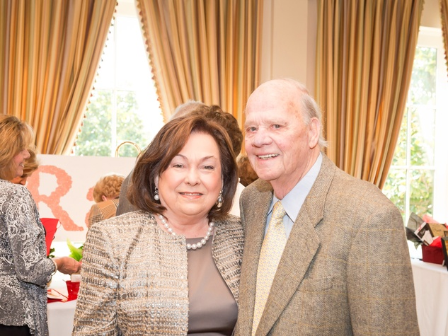 18 Rose and Harry Cullen at the Aphasia Recovery Center luncheon March 2014