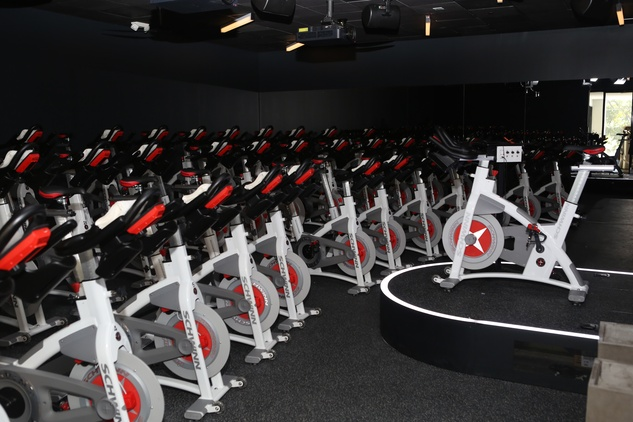 Equinox cycle studio at River Oaks District