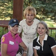 Jana Arnoldy, from left, Nancy Dinerstein and Susan Hansen Houston Methodist in Aspen July 2014