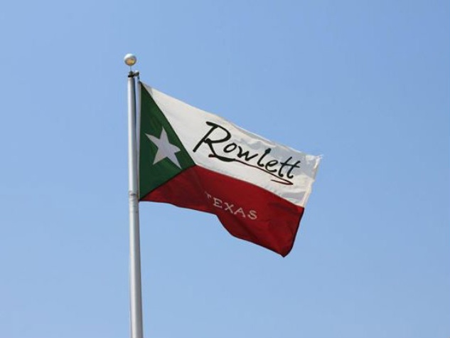 Flag of Rowlett, Texas