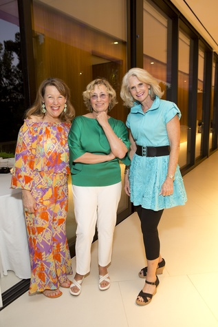 6 Laurie Vander Ploeg, from left, Natasha Bleyzer and Katheryn Lott at the Bayou Preservation Association 15th annual glala Bayoutopia October 2014