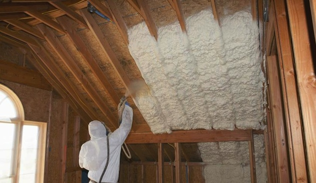Spray Foam Installation