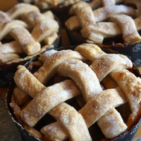 Apple Pies at Triniti by pastry chef Samantha Mendoza