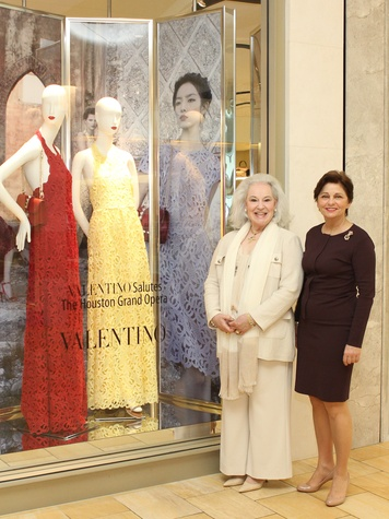 News_Houston Grand Opera_Valentino luncheon_March 2012_Donna Bruni_Beth Madison