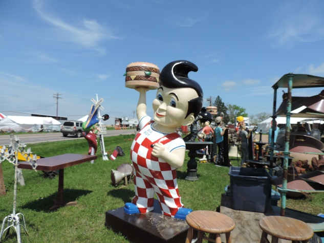 Tarra Gaines Antique Week beginner's guide April 2015 Big Boy