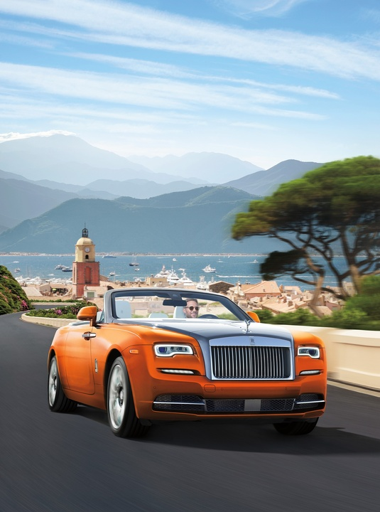 Rolls Royce Dawn orange, NM Fantasy Gifts 2017