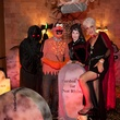 16 Michael Massey, from left, Jordan Massey, Pam Massey and Jana Campbell at the Bone Bash Halloween party October 2013