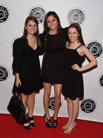 3, Del Frisco's Grille VIP party, March 2013, Brooke Milbauer, Mary Rosenstein, Rebecca Rosensheff