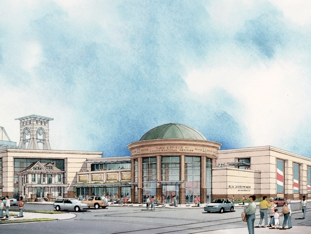 Nau Center Exterior Rendering Courtesy of Bailey Architects November 2014
