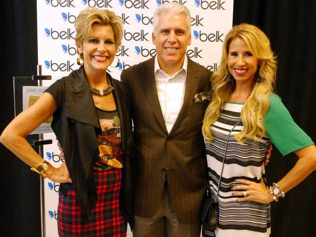Dawn Mellon (THE FASHIONISTAS), Jon Mellon, Jennifer Cloutier , nicky hilton book signing, belk