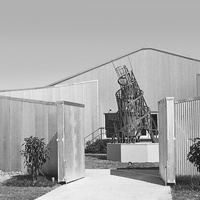 Art Barn Menil Rice University Media Center Museum