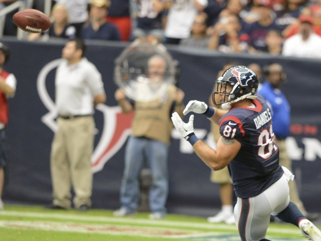 Owen Daniels Saints Texans
