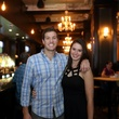 Hilton Bruchard and Maggie Hegenbart at the Springbok restaurant kick-off party July 2014