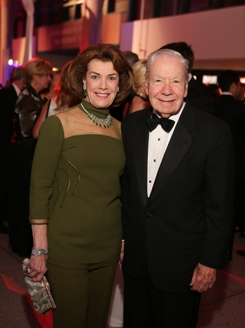 Jeanie and Wally Wilson at the Museum of Natural Science Gala March 2014